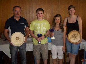 Vereins- und Schülermeisten 2011