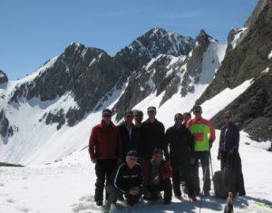 Gipfelfoto mit allen Teilnehmern