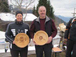 Vereinsmeister 2013 Helga Maier und Toni Gabriel