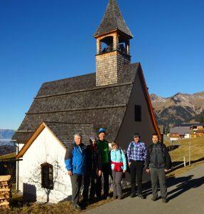 Kirche am Ludescherberg